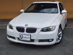 BMW 3シリーズ 335i 3Lツインターボ サンルーフ プッシュスタート 黒革シート 社外ナビ バックカメラ ETC Wエアコン パワーシート 純正17インチAW