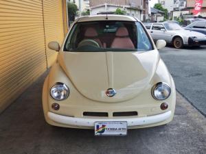 日産 マーチ 12E ONEオーナー  Herbie(ハービー)仕様 キーレス ETC  レザー調シートカバー ウッド調パネル UVカットガラス Wエアバック 衝突安全ボディ- EBD