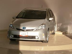 トヨタ プリウスアルファ Sツーリングセレクション スマートキ- HDDナビ フルセグ