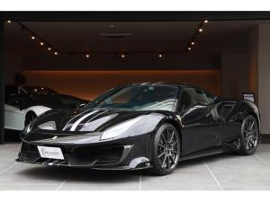 フェラーリ 488ピスタ ベースグレード 正規D車 禁煙車 カーボンホイール サスペンションリフター カーボンエクステリア カーボンインテリア
