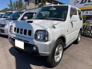 スズキ ジムニー ワイルドウインド 4WD AC 衝突安全ボディ CDコンポ PS PW 背面ハードタイヤカバー