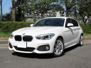 BMW 1シリーズ 118i Mスポーツ 後期LCIモデル アドバンスドパーキングサポートPKG 衝突軽減 レーンディパーチャー HDDナビ Bカメラ 自動駐車 前後パークセンサー LEDライト ETC Bluetooth 禁煙車 記録簿