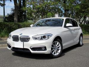 BMW 1シリーズ 118d スタイル ニューインテリア ACC ハーフレザー シートヒーター コンフォートPKG アドバンスドパーキングサポートPKG 衝突軽減システム タッチパネルナビ Bカメラ 自動駐車 禁煙車