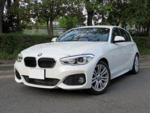 BMW 1シリーズ 118i Mスポーツ コンフォートPKG パーキングサポートPKG 衝突軽減システム レーンディパーチャー HDDナビ Bカメラ パークセンサー LEDライト ETC Bluetooth クルコン 禁煙車 記録簿