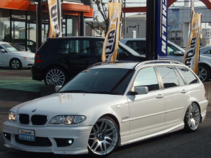 BMW 3シリーズ 318iツーリング ENERGYエアロマフラー19AW