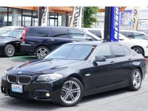 BMW 5シリーズ 528i Mスポーツバンパー+18AW スマートキー3本 フルセグHDDナビ 最新地図データ更新済 バックカメラ ETC車載器 コンフォートアクセス 前後ソナー パワーテールゲート ユピテルレーダー 内外綺麗