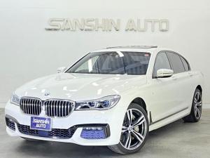 BMW 7シリーズ 750i Mスポーツ 黒革 サンルーフ 純正HDDナビ フルセグTV 全周囲カメラ ETC コンフォートアクセス シートヒーター パドルシフト ハーマンカードンサウンド ワンオーナー