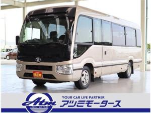 トヨタ コースター EX 28人 冷蔵庫付