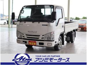 いすゞ エルフトラック フルフラットロー 2トン積み 10尺荷台 クリーンディーゼル車 助手席側電動格納ドアミラー ETC