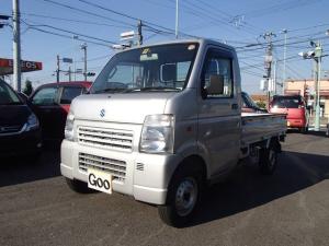 スズキ キャリイトラック KCエアコン・パワステ 4WD 5MT 走行少ない8200km