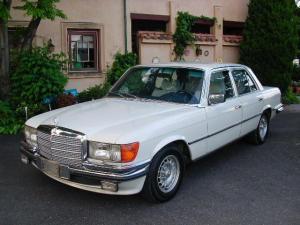 メルセデス・ベンツ Sクラス 280S  280SE  ガレージ保管 日常乗りできます