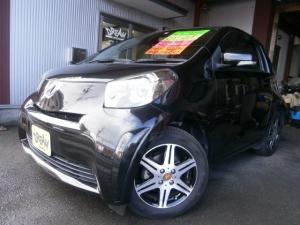 トヨタ iQ 100G Wエアバック ABS インテリキー 純正CD 社外アルミ HID