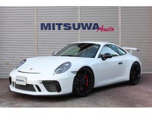 ポルシェ 911 911GT3 クラブスポーツPKG・スポーツクロノPKG・スポーツデザインミラー・ブラックレザーシート・フロントリフト・ロールゲージ・カーボンインテリア・サテンブラック20AW・フルプロテクションフィルム施工