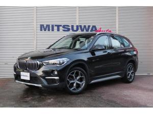 BMW X1 xDrive 18d 4WD・ディーゼル・8速AT・コンフォートアクセス・クルーズコントロール・パーキングアシスト・ヘッドアップディスプレイ・LEDヘッドライト・純正ナビ・Bluetooth・ETC・純正18AW