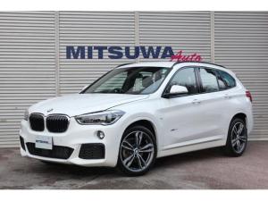 BMW X1 xDrive 18d Mスポーツハイラインパッケージ 4WD・8速AT・OPアドバンスドアクティブセーフティPKG・コンフォートPKG・アクティブクルーズ・ヘッドアップディスプレイ・Mスポーツ専用シート&オプション19AW・純正ナビDVD・BTオーディオ