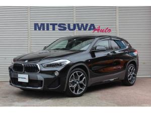 BMW X2 sDrive 18i MスポーツX 8速AT・コンフォートPKG・パーキングサポートPKG・アダプティブクルーズ・Mスポーツシート&19AW・シートヒーター・LEDヘッド・純正ナビBカメラ・サイドバイザー・Aストップ