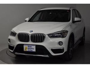 BMW X1 xDrive 18d xライン インテリS HDDナビ バックカメラ LEDヘッド 4WD ナビ スマートキー アイドリングストップ キーレス DVD再生