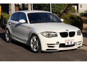 BMW 1シリーズ 116i Mスポーツパッケージ A-REALエアロ・社外VRSボンネット・社外18インチアルミ・ハーフレザーシート