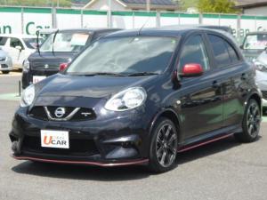 日産 マーチ ニスモ S 5速マニュアル 純正ナビ オートライト