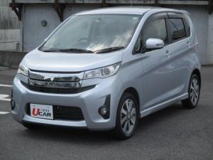 三菱 eKカスタム T ターボ HID ETC 純正15インチアルミ バックモニター 当店下取り車