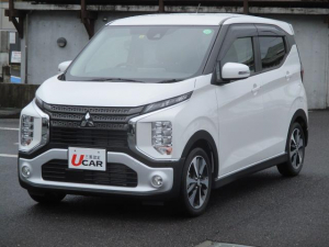 三菱 eKクロス T ターボ 当店社有車 LEDヘッドライト コーナーセンサー 衝突被害軽減システム シートヒーター
