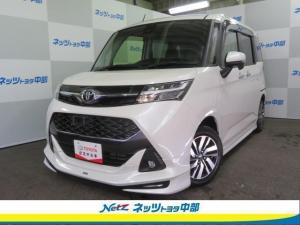 トヨタ タンク カスタムG S SDメモリーナビ・バックカメラ・ETC・LEDヘッドランプ・両側パワースライドドア・フルエアロ