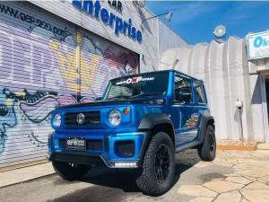 スズキ ジムニーシエラ JC 4WD OEP仕様Gminiコンプリ-トカ-登録済未使用車 (ブルーII)
