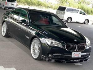 BMWアルピナ B7 ビターボ リムジン 法人ワンオーナ 右H レッドレザ ニコル
