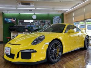 ポルシェ 911 911GT3 正規D車 禁煙車スポーツクロノパッケージ クラブスポーツパッケージ PCCBセラミックコンポジットブレーキ フロントリフト カーボンスポーツバケットシート&ロールバー記録簿プロテクションF Bモニター
