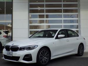 BMW 3シリーズ 320d xDrive Mスポーツ 19インチアルミ AI音声会話 ACC シートH Pシート LEDヘッドライト クリアランスソナー ミラーETC 8AT パドルシフト 新車保証継承 4WD ウェルカムライトカーペット