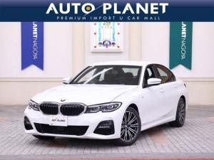BMW 3シリーズ 320d xDrive Mスポーツ 当社元デモカー ACC 4WD 18インチアルミ ミラーETC 純正ナビ 軽油 コンフォートアクセス LEDヘッドライト クリアランスソナー パドルスイッチ 8AT SOSコール サイサポート
