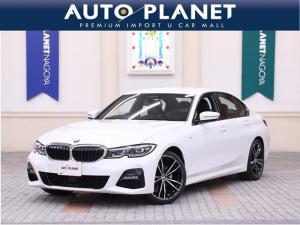 BMW 3シリーズ 320i Mスポーツ 当社元デモカー インテリジェントセーフ ACC Pゲート クリアランスソナー 黒革S シートH Pシート パドルシフト LEDヘッドライト コンフォートアクセス ミラーETC Bカメラ