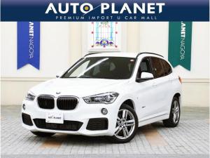 BMW X1 sDrive 18i Mスポーツ 禁煙/1オーナー/インテリジェントセーフティ/HDDナビ/Bカメラ/ミラーETC/Pゲート/LEDヘッドライト/コンフォートアクセス/アルミ/CD/スピードリミッター/サイサポート/クリアランスソナー