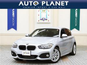 BMW 1シリーズ 118d Mスポーツ パーキングサポートPKG 禁煙 衝突軽減システム HDDナビ Bカメラ ミラーETC コンフォートアクセス アルミ クリアランスソナー オートライト オートワイパー アイドリングストップ サイサポート