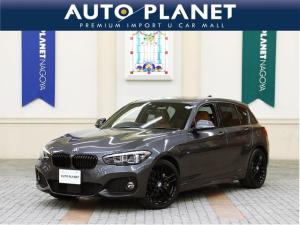 BMW 1シリーズ 118d Mスポーツ エディションシャドー 1年保証・走行距離無制限/限定/禁煙/ACC/茶革S/衝突軽減B/車線逸脱警告/HDDナビ/Bカメラ/シートH/ミラーETC/LEDヘッドライト/コンフォートアクセス/黒アルミ/クリアランスソナー
