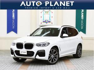 BMW X3 xDrive 20d Mスポーツ /イノベーションPKG/禁煙車/ACC/衝突軽減B/全周囲カメラ/ナビTV/ハーフ革S/シートH/Pシート/Pゲート/ミラーETC/コンフォートアクセス/ヘッドアップディスプレイ/4WD/軽油