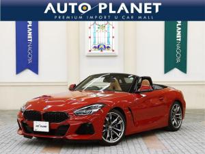 BMW Z4 M40i イノベーションPKG/禁煙/ACC/衝突軽減B/車線逸脱警告/ハーマンカードン/純正ナビ/Bカメラ/コニャックヴァーネスカレザーS/シートH/Pシート/LEDヘッドライト/コンフォートアクセス/HUD