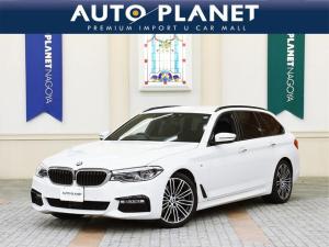 BMW 5シリーズ 523dツーリング Mスポーツ ハイラインパッケージ 1年保証付・走行距離無制限/禁煙車/黒革S/ACC/衝突軽減B/マッサージ機能/全周囲カメラ/シートH・C/Pゲート/コンフォートアクセス/LEDヘッドライト/ミラーETC/クリアランスソナー/HUD