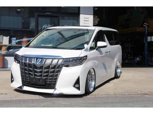 トヨタ アルファード 2.5X ACCエアサス公認3年付きキャンバーアームカスタム