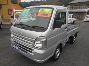 スズキ キャリイトラック KCエアコン・パワステ 4WD 18000Km タイヤ&バッテリ-新品 禁煙車