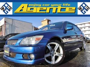 トヨタ アルテッツァ RS200 Zエディション /3S-GE/99000Km時Tベルト交換済み/フルノーマル/クオリタートエアロ/フォグランプ/オートエアコン/純正17インチAW/ベース車両に最適/