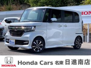 ホンダ N-BOXカスタム G・EXホンダセンシング 元デモカー ETC 両側電動