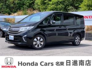 ホンダ ステップワゴン G・EX 社外メモリーナビ リア席モニター 両側電動 7人乗