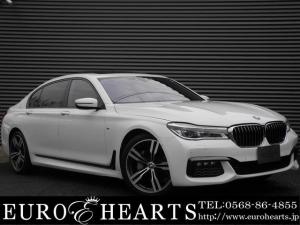 BMW 7シリーズ 740Li Mスポーツ 黒革シート サンルーフ リアエンターテインメント スタイリング648M20インチAW 全周囲カメラ ハーマンカードン アダプティブクルーズ マッサージシート フルセグTV パワートランク DVD再生