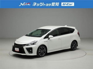 トヨタ プリウスアルファ Sツーリングセレクション・G's バックモニター ETC