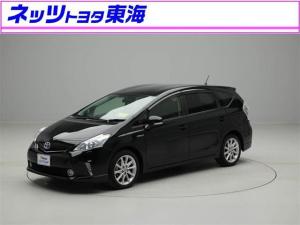 トヨタ プリウスアルファ Gツーリングセレクション HDDナビ フルセグ 修復歴有