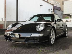 ポルシェ 911 911カレラ4S スポーツクロノパッケージ・ディーラー車・革シート・左ハンドル・整備点検記録簿