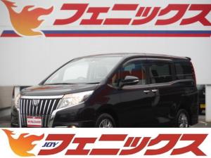 トヨタ エスクァイア Giワンオーナー黒革9型ナビTV11型後席モニターWパワスラ
