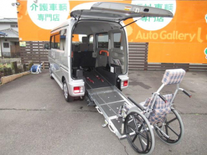 スズキ エブリイワゴン 福祉車両 スロープ リヤシート付 レーダーブレーキサポート