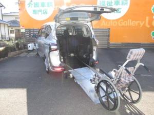 トヨタ シエンタ G 福祉車両 スロープタイプ1 純正ナビ・ドライブレコーダー